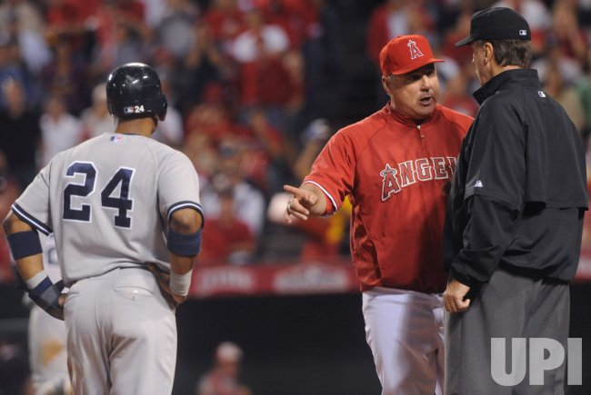 ALCS Game 4: New York Yankees at Los Angeles Angels