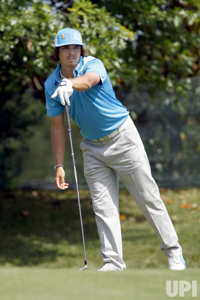 Ricky Fowler in Wells Fargo Championship in Charlotte