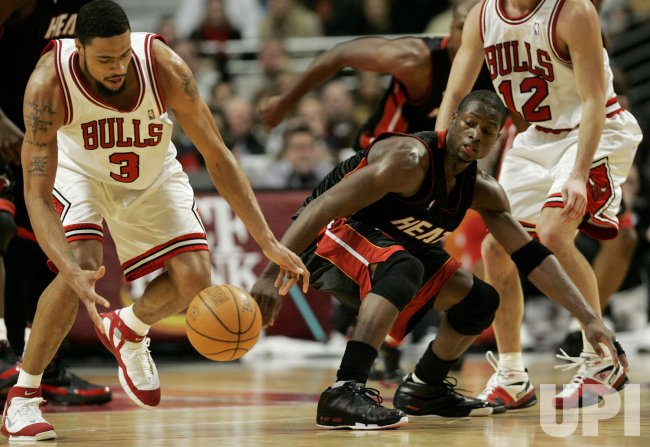 NBA MIAMI HEAT VS CHICAGO BULLS