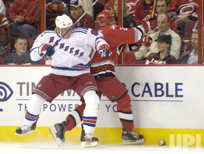 NEDW YORK RANGERS VS CAROLINA HURRICANES