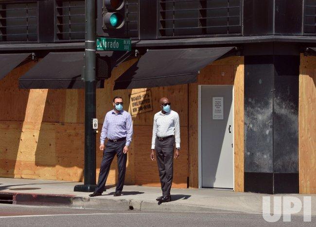 Boarded Up Businesses In Pasadena Upi Com