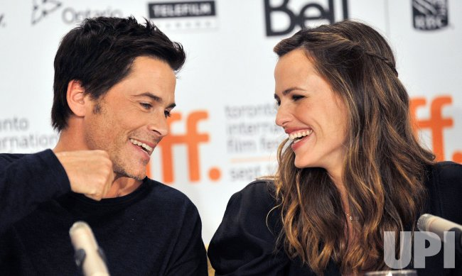 Jennifer Garner and Rob Lowe attend Toronto International Film Festival