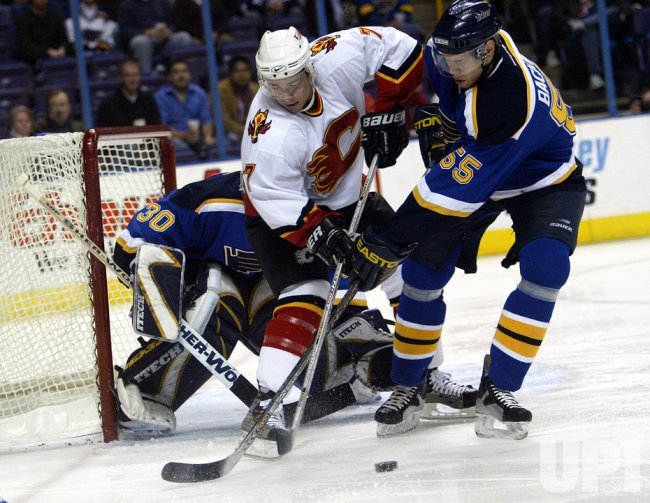 CLAGARY FLAMES VS ST. LOUIS BLUES