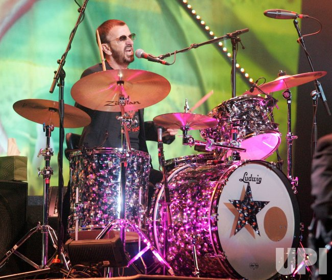 Ringo Starr performs in Hollywood, Florida