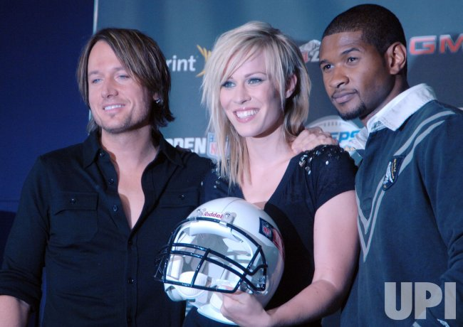 Keith Urban promos plans for NFL opening kiickoff 2008 in New York