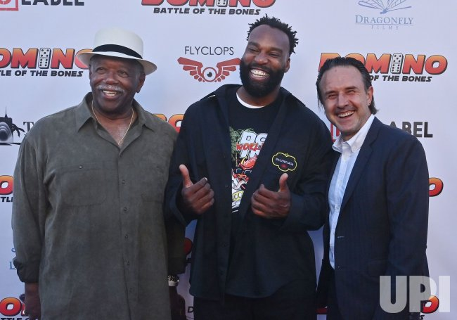 "Cast Members Attend the ""Domino: Battle of the Bones"" Premiere in LA"