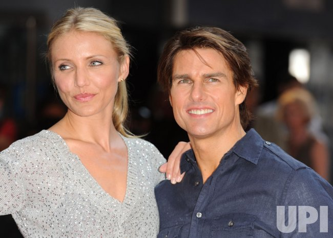 """Cameron Diaz and Tom Cruise attend """"Knight And Day"""" premiere"""