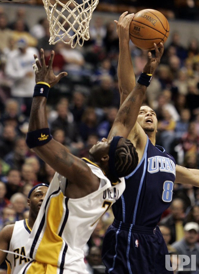 INDIANAPOLIS PACERS VS UTAH JAZZ