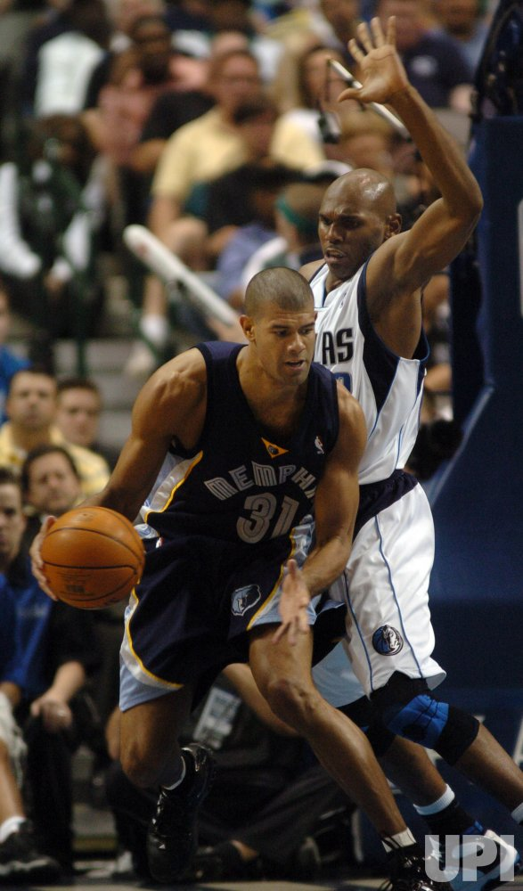 NBA PLAYOFFS-DALLAS MAVERICKS VS MEMPHIS GRIZZLIES
