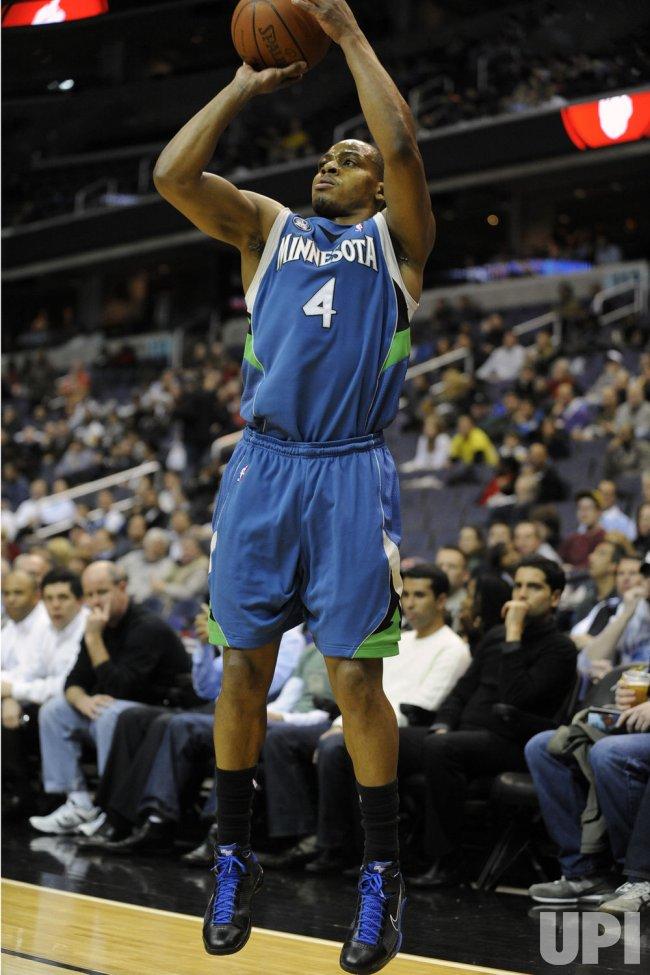 NBA Minnesota Timberwolves at Washington Wizards