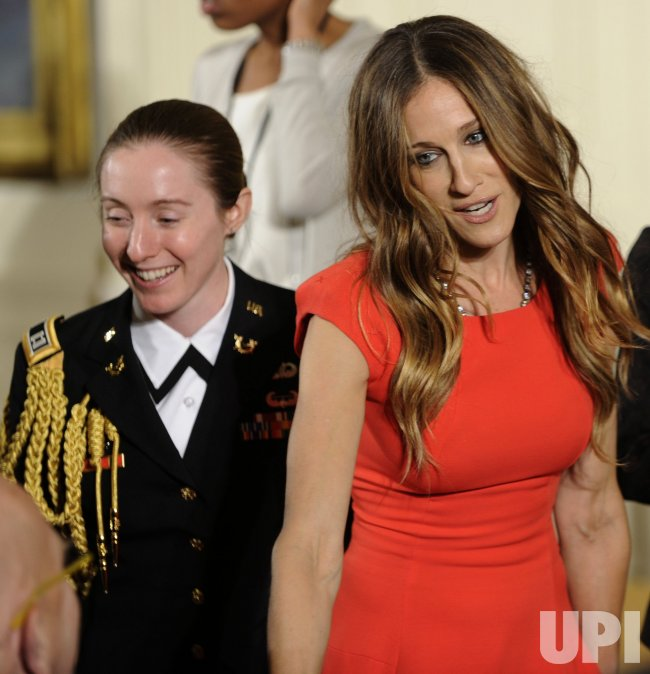 Sarah Jessica Parker attends White House arts ceremony