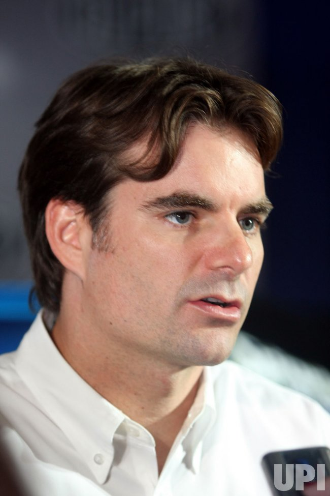 Jeff Gordon on NASCAR media tour