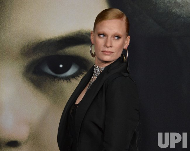 """Denna Thomsen attends """"The Turning """" premiere in Los Angeles."""