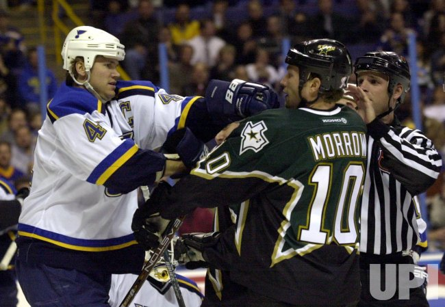 St. Louis Blues vs Dallas Stars hockey