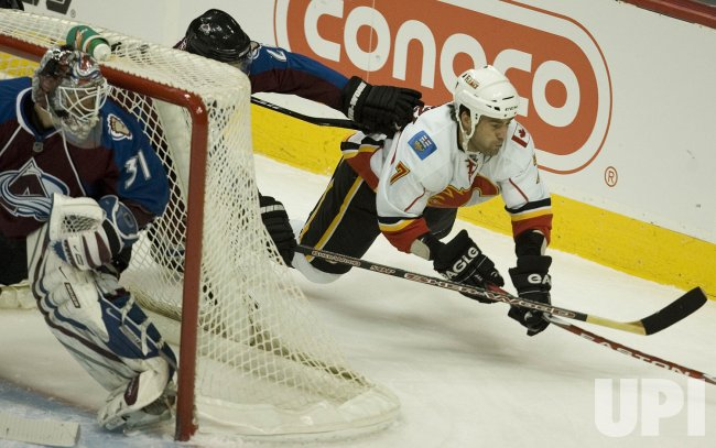 NHL Colorado Avalanche Host Calgary Flames