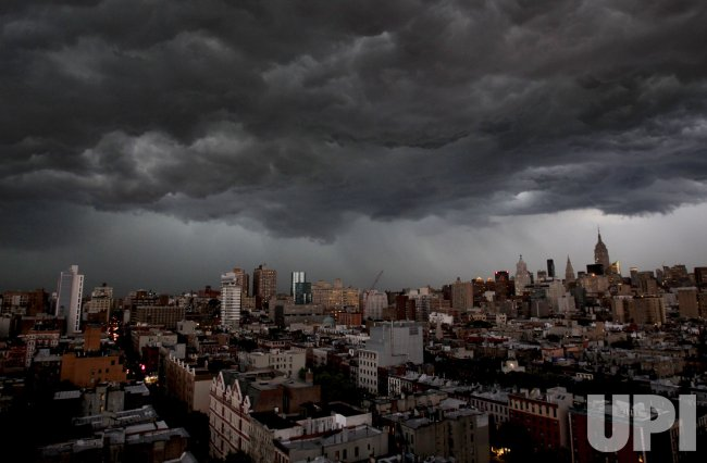 Lightning and Thunder Storms In New York City