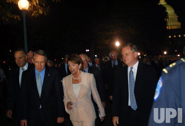 CONGRESSIONAL DEMOCRATS SPEAK AT RALLY AGAINST IRAQ WAR IN WASHINGTON