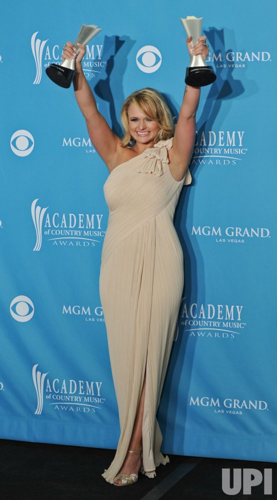 Miranda Lambert wins Top Female Vocalist, Album of the Year, and Video of the Year at the ACM Awards in Las Vegas