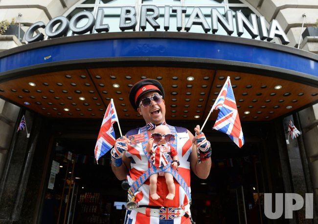 Preparations ahead of the birth of the Royal baby in London