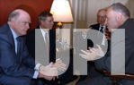 SNOW, GREENSPAN DISCUSS CHINA TRADE WITH SCHUMER, GRAHAM