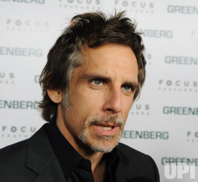 "Ben Stiller attends the ""Greenberg"" premiere in Los Angeles"