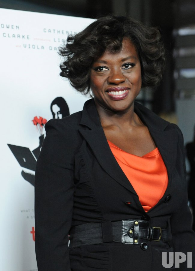 "Viola Davis attends the premiere of ""Trust"" in Los Angeles"