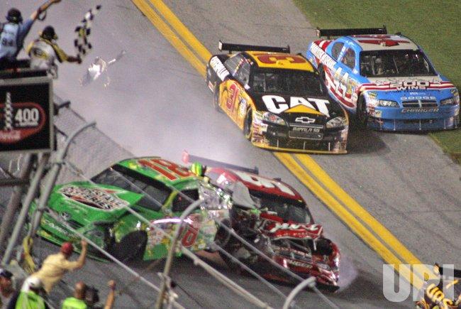 NASCAR Coke Zero 400 at Daytona Beach, Florida