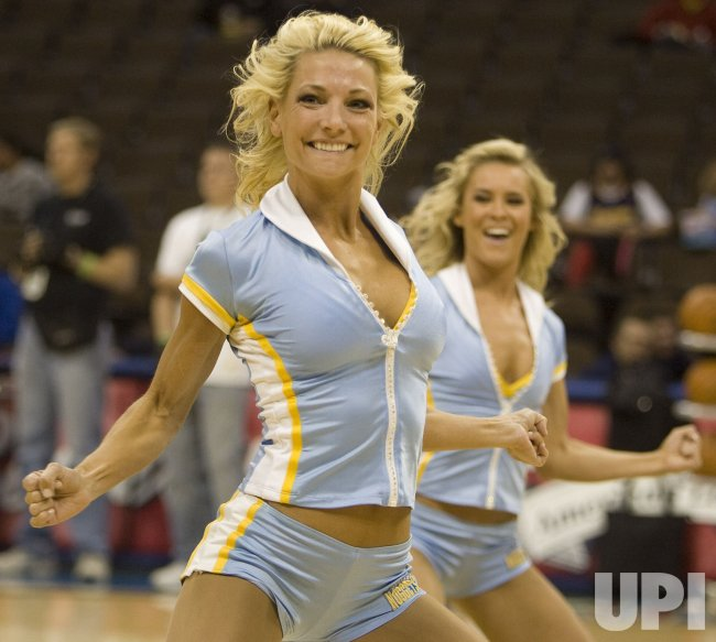 Denver Nuggets Dancers: Nuggets Dancers Perform In Denver