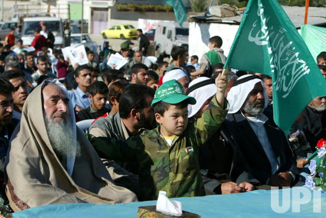 HARDLINE ISLAMIC RALLY IN GAZA