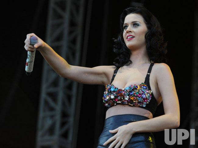 Katy Perry performs at V Festival in Chelmsford