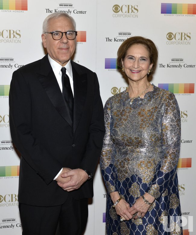 David M. Rubenstein and wife Alice Rogoff arrive for Kennedy Center Honors Gala in Washington DC