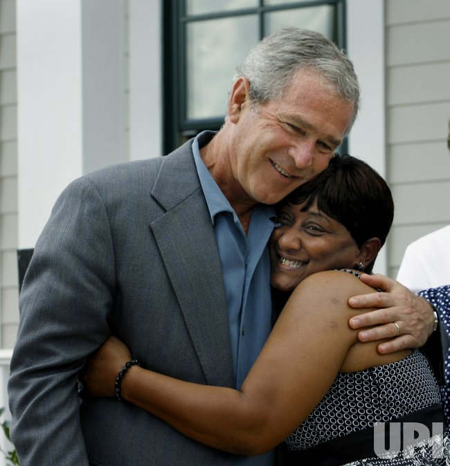 U.S. PRESIDENT BUSH MARKS ANNIVERSARY OF HURRICANE KATRINA IN NEW ORLEANS