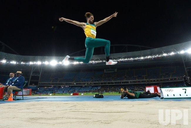 Ancient olympic long jump