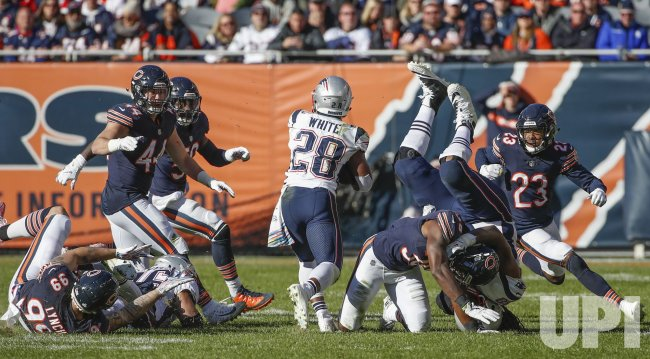 Chicago Bears and New England Patriots in Chicago