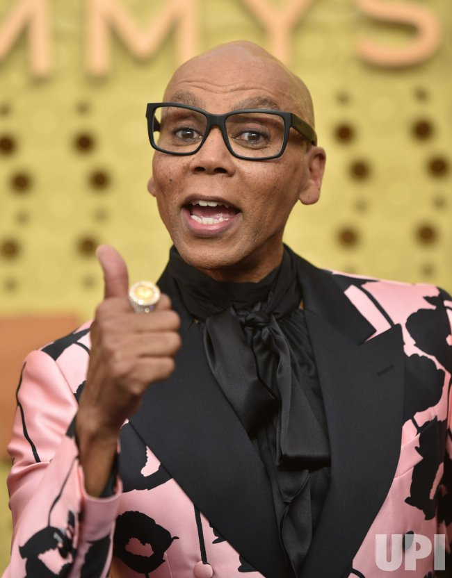 RuPaul attends Primetime Emmy Awards in Los Angeles