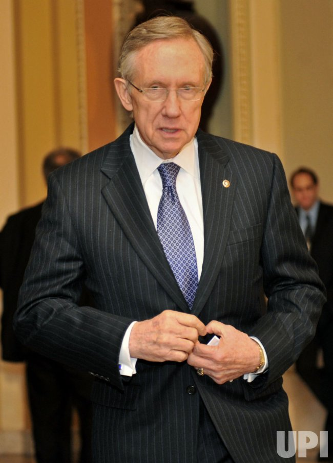 Senate Majority Leader Harry Reid (D-NV) in Washington