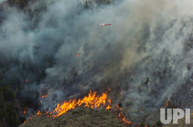 Colorado National Guard fights Colorado Wildfires