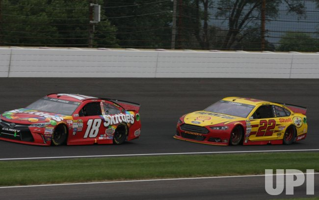 Kyle Bush wins the 22nd Brickyard 400 at the Indianapolis Motor Speedway