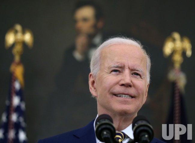 President Biden COVID Update Briefing in Washington