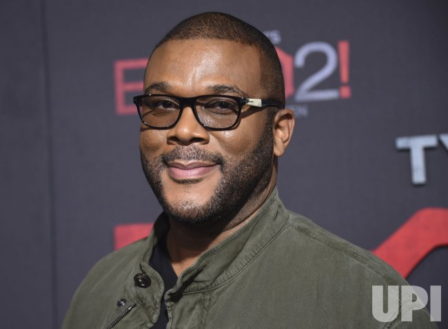 """Tyler Perry attends """"Tyler Perry's Boo 2! A Madea Halloween"""" premiere in Los Angeles"""