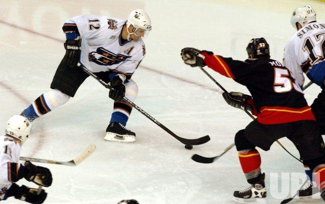 Calgary Flames at Washington Capitals NHL Hockey