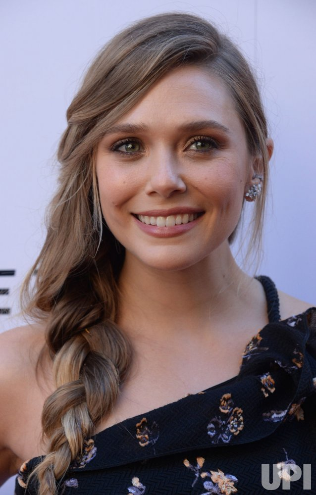 "Elizabeth Olsen attends the ""Wind River"" premiere in Los Angeles"