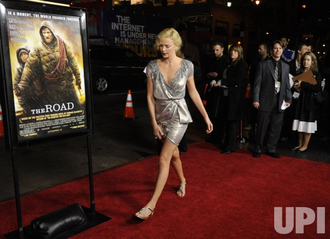 "Charlize Theron attends a screening of the ""The Road"" in Los Angeles"