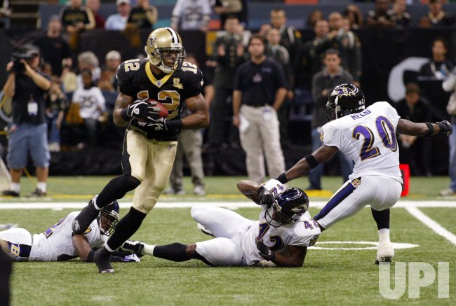 NEW ORLEANS SAINTS VS BALTIMORE RAVENS