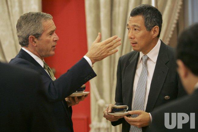 PRESIDENT BUSH'S VISIT TO CHILE