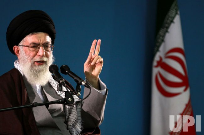 Iranian Supreme Leader Khamenei speaks in Tehran