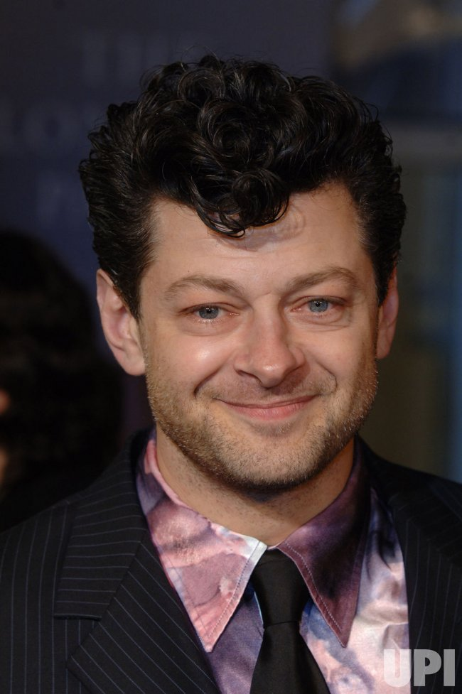 "ACTOR ANDY SERKIS AT ""LONDON PARTY"""