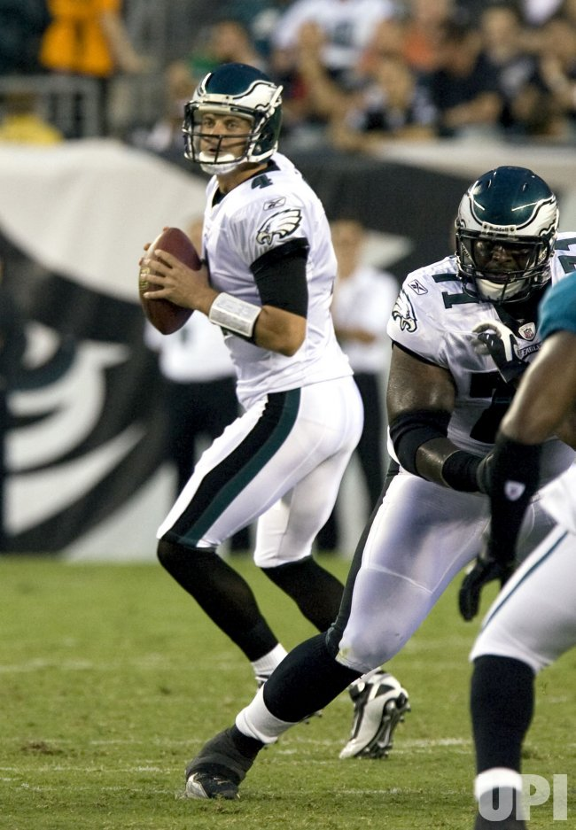 Jacksonville Jaguars vs Philadelphia Eagles game action