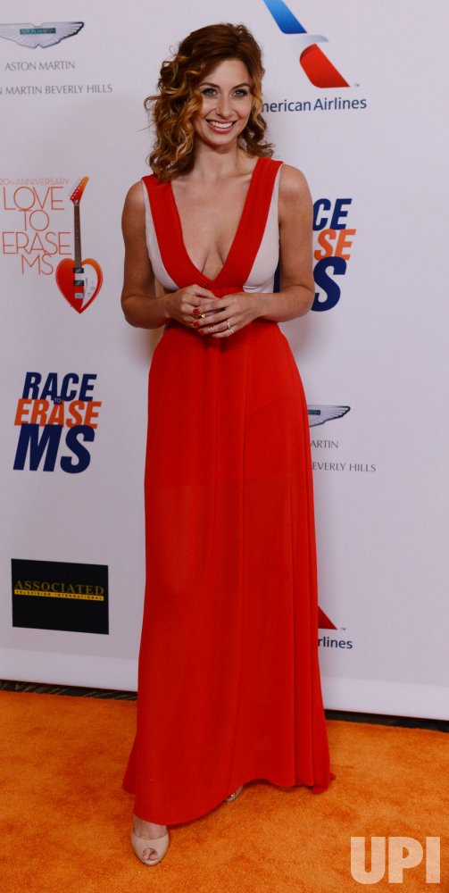 Aly Michalka attends the 20th annual Race to Erase MS gala in Los Angeles