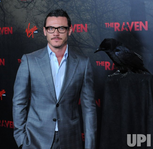 "Luke Evans attends ""The Raven"" premiere in Los Angeles"